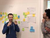 Christian Hill und Gerhard Prossliner -Präsentation - Napkin Sketch - Med Uni Graz / TU Graz